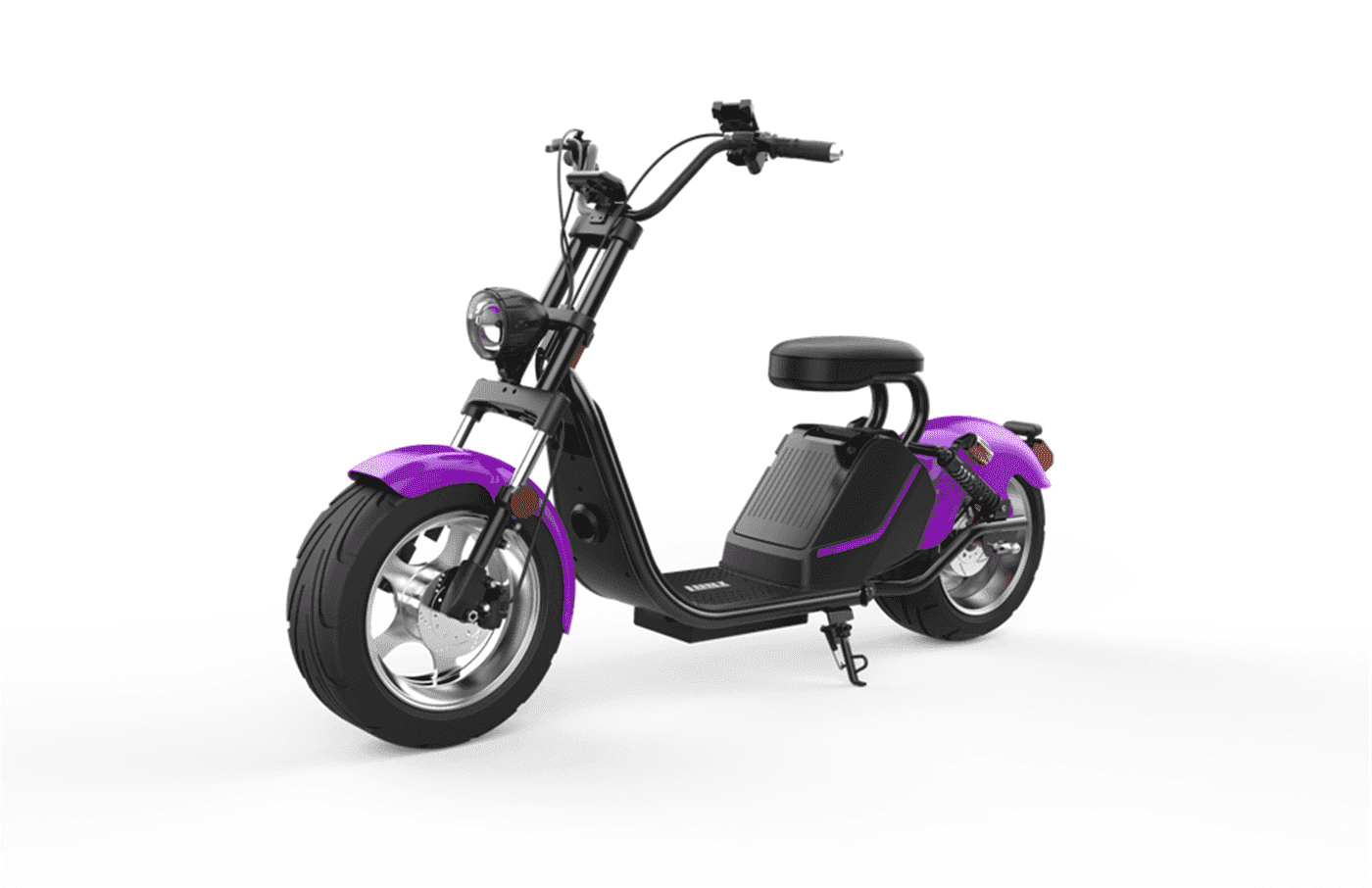 Caigiees Citycoco Harley big wheel electric scooter with EEC approved from Rooder factory supplier exhibition March Expo alibaba Super September Purchasing (6)