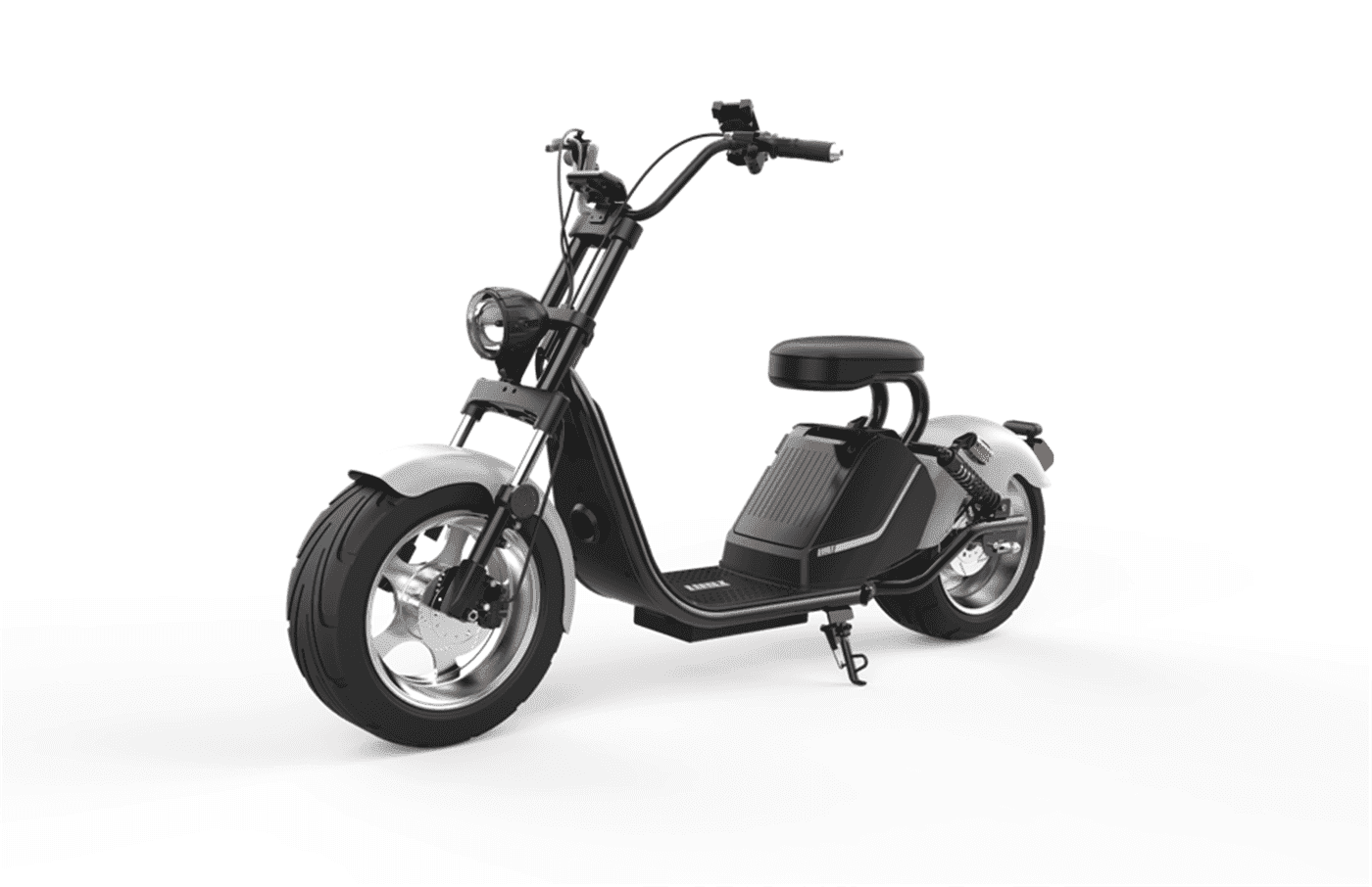 Caigiees Citycoco Harley big wheel electric scooter with EEC approved from Rooder factory supplier exhibition March Expo alibaba Super September Purchasing (7)