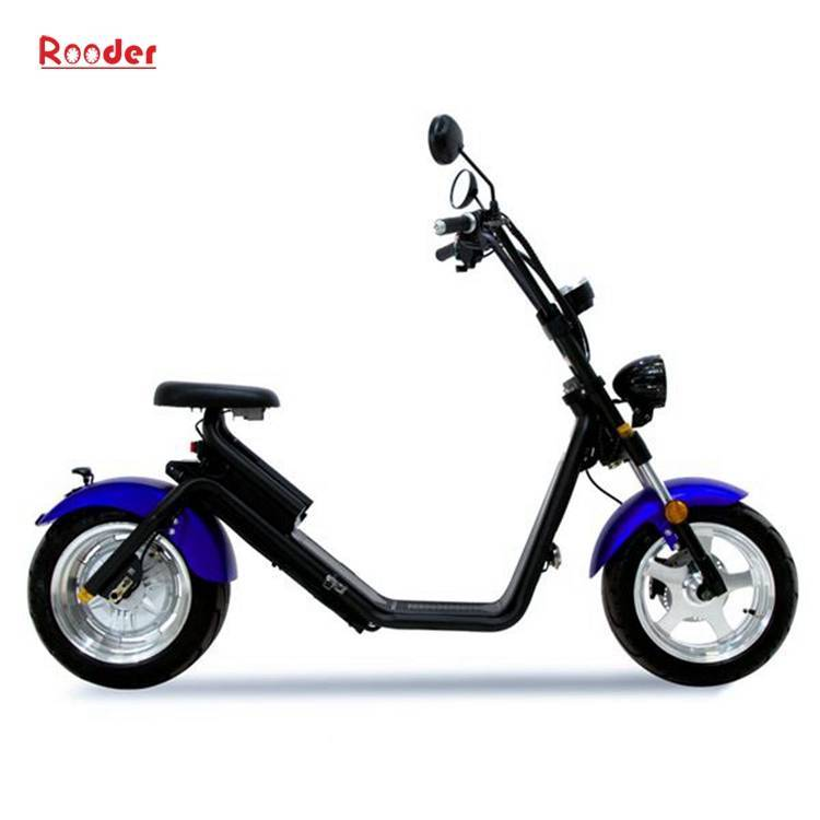 Citycoco Harley Fat Tire Big Wheel EEC Road Legal Electric Scooter (1)