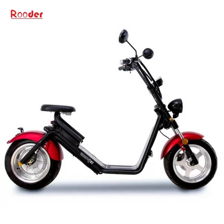 Citycoco Harley Fat Tire Big Wheel EEC Road Legal Electric Scooter (10)
