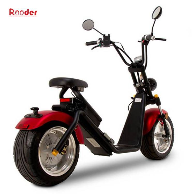 Citycoco Harley Fat Tire Big Wheel EEC Road Legal Electric Scooter (2)