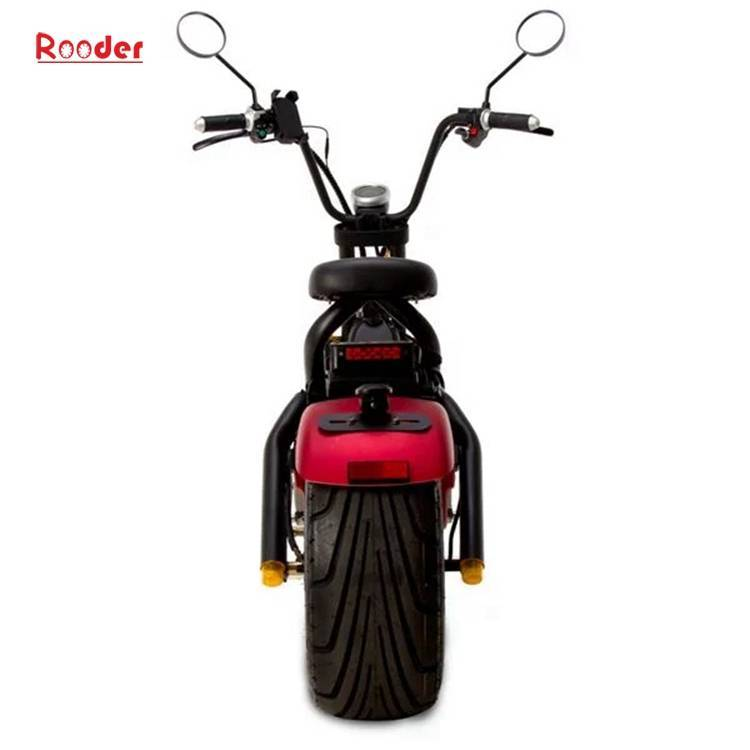 Citycoco Harley Fat Tire Big Wheel EEC Road Legal Electric Scooter (3)