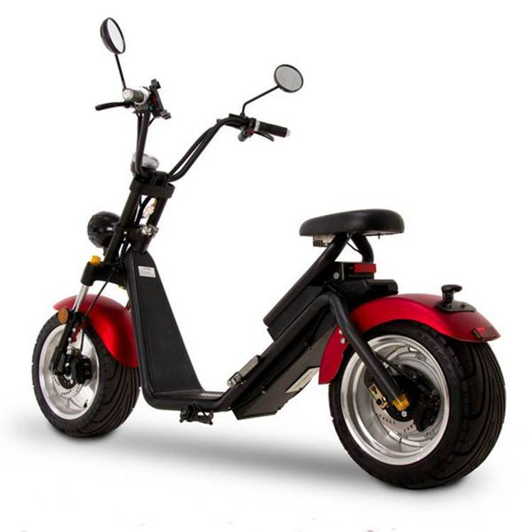 Citycoco Harley Fat Tire Big Wheel EEC Road Legal Electric Scooter (4)