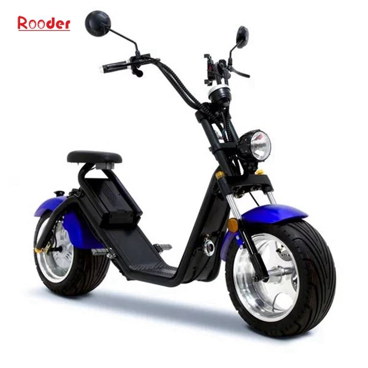 Citycoco Harley Fat Tire Big Wheel EEC Road Legal Electric Scooter (5)