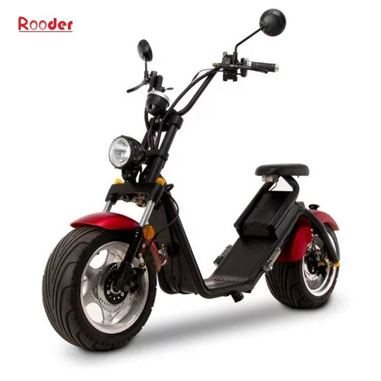 Citycoco Harley Fat Tire Big Wheel EEC Road Legal Electric Scooter (6)