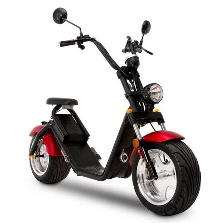 Citycoco Harley Fat Tire Big Wheel EEC Road Legal Electric Scooter (7)