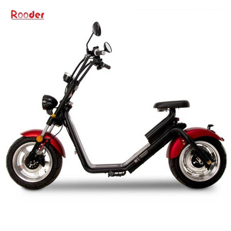 Citycoco Harley Fat Tire Big Wheel EEC Road Legal Electric Scooter (9)