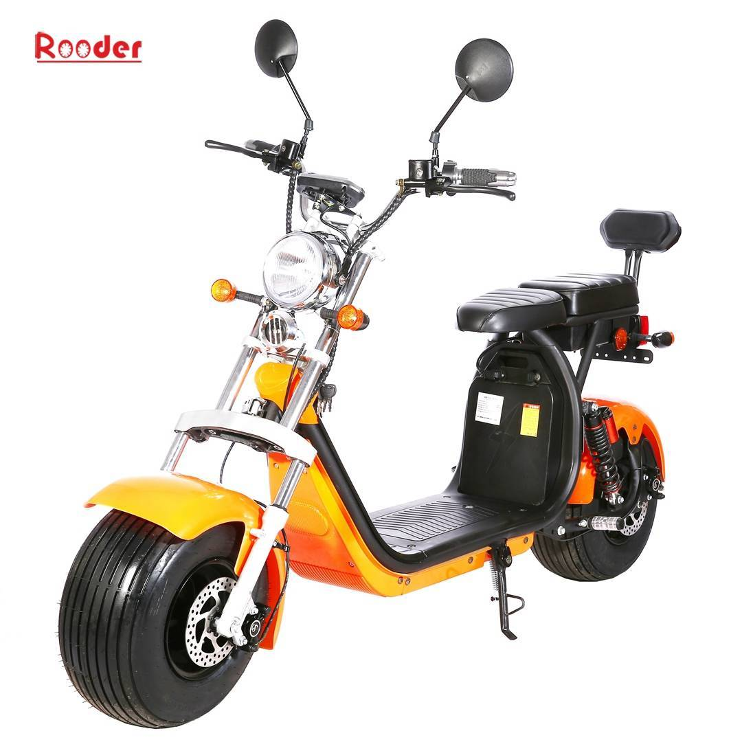 Citycoco homologue Route Rooder Caigiees T-Cruiser Harley rafmagns vespu Homologuée Route (1)