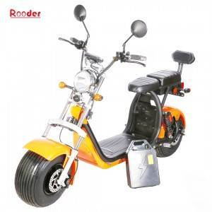 EEC aonta citycoco dealain scooter Rooder bhaile Coco r804r bho harley el scooter chompanaidh Rooder