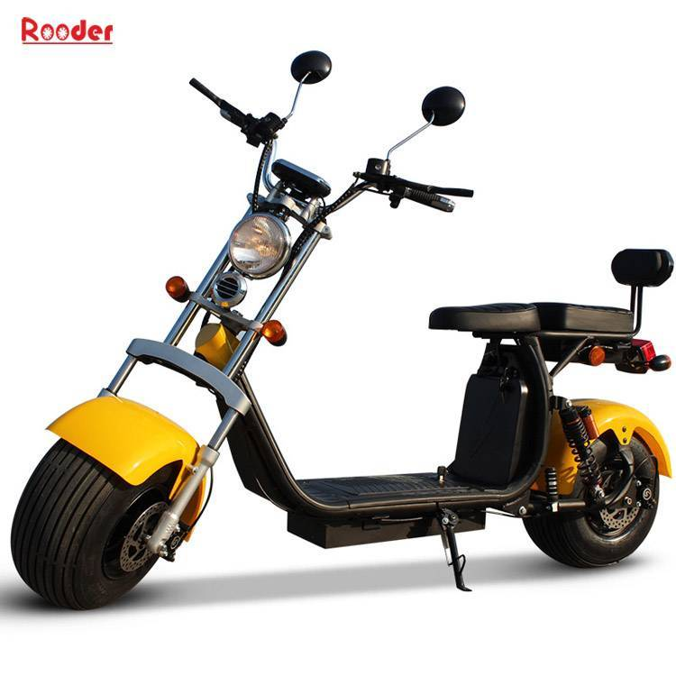 EEC approval citycoco harley electric scooter from Rooder Group Shansu technology limited