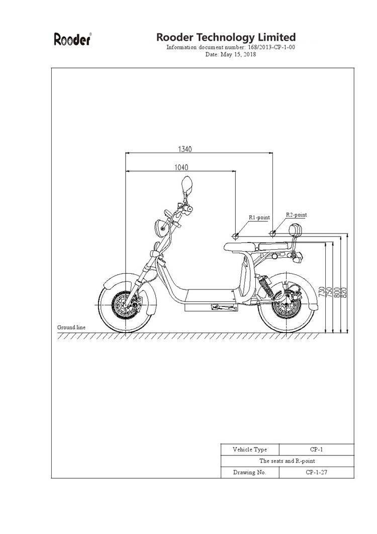 EEC approval harley electric scooter from Rooder Group Shansu technology limited (1)