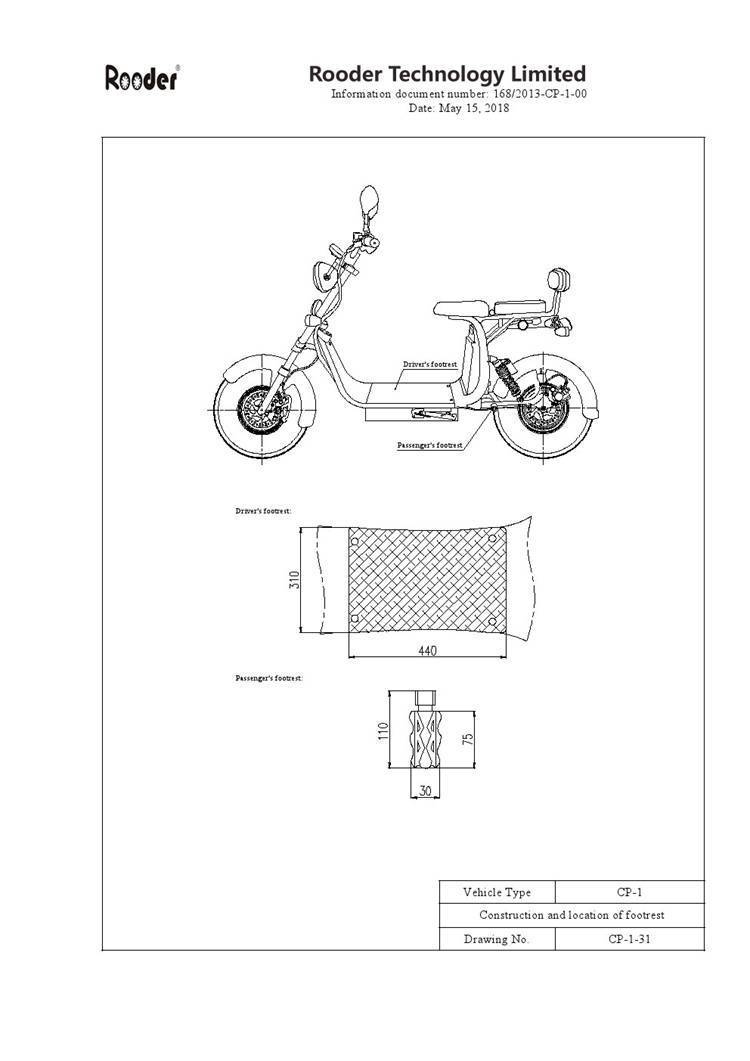 EEC approval harley electric scooter from Rooder Group Shansu technology limited (5)