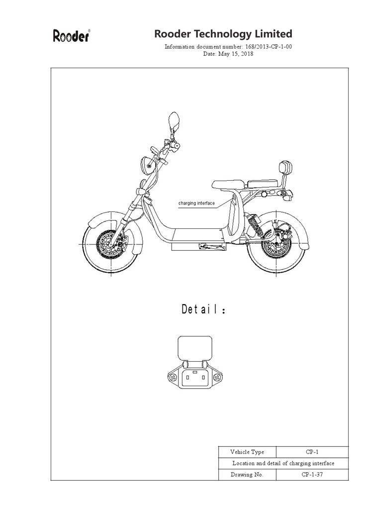 EEC approval harley electric scooter from Rooder Group Shansu technology limited (9)
