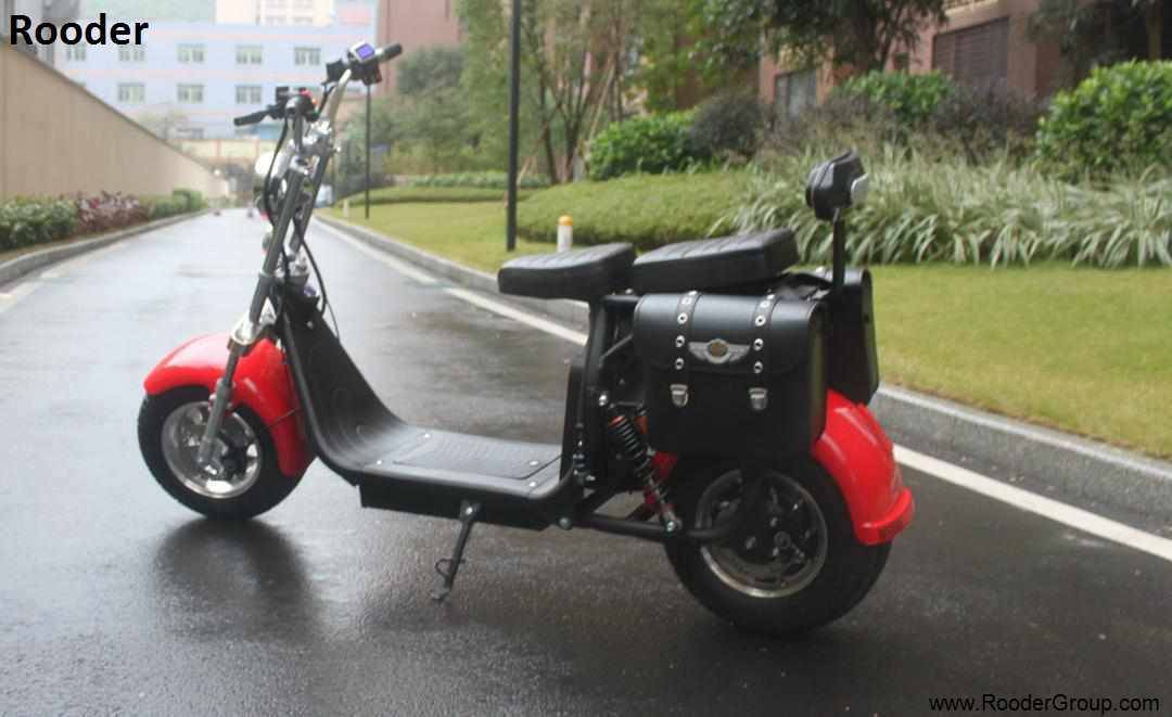 Rooder seev woqu city coco electrique big wheel electric e scooter harley with lithium battery for adult in france italia sweden usa brazil (8)