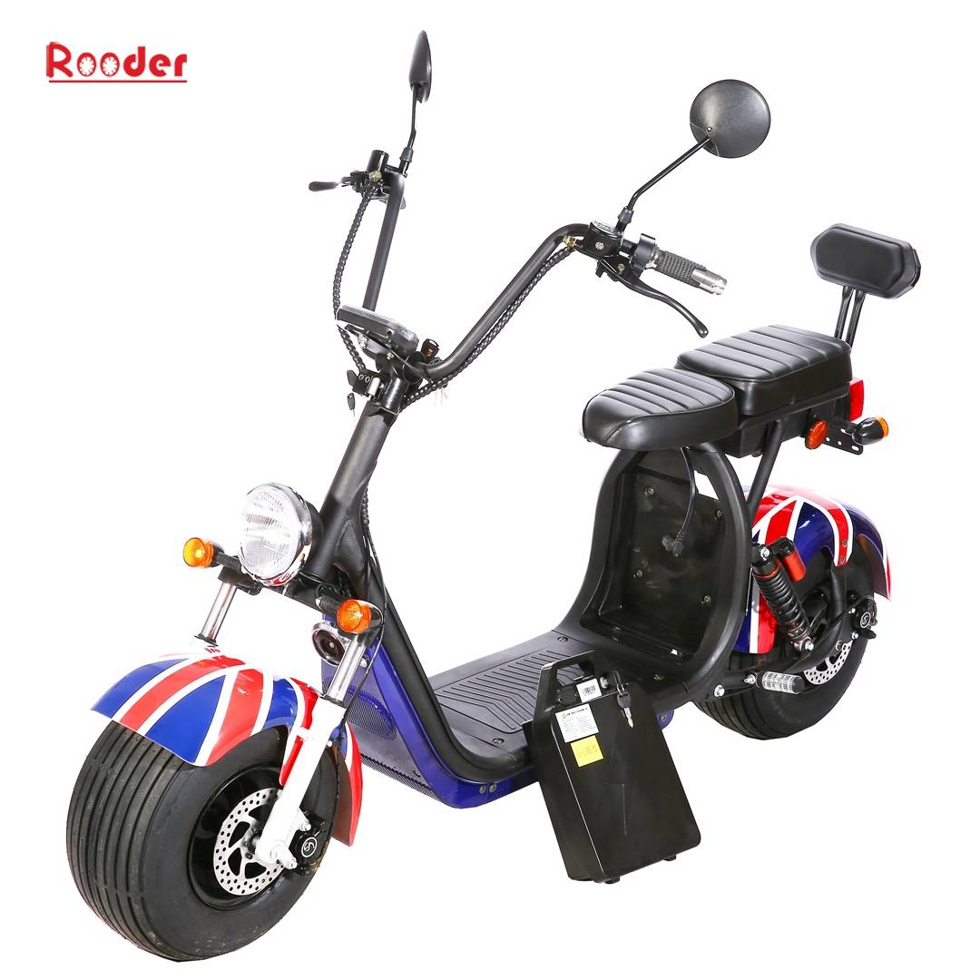 Scooter électrique Harley Citycoco - homologué Rooder r804s (1)