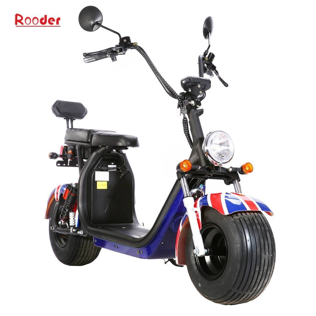 Scooter électrique Harley Citycoco - homologué Rooder r804s (3)