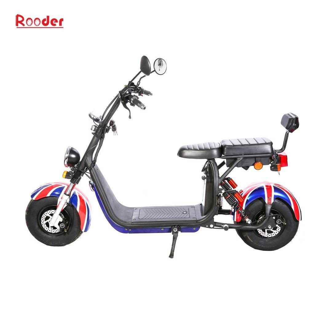 Scooter électrique Harley Citycoco - homologué Rooder r804s (5)