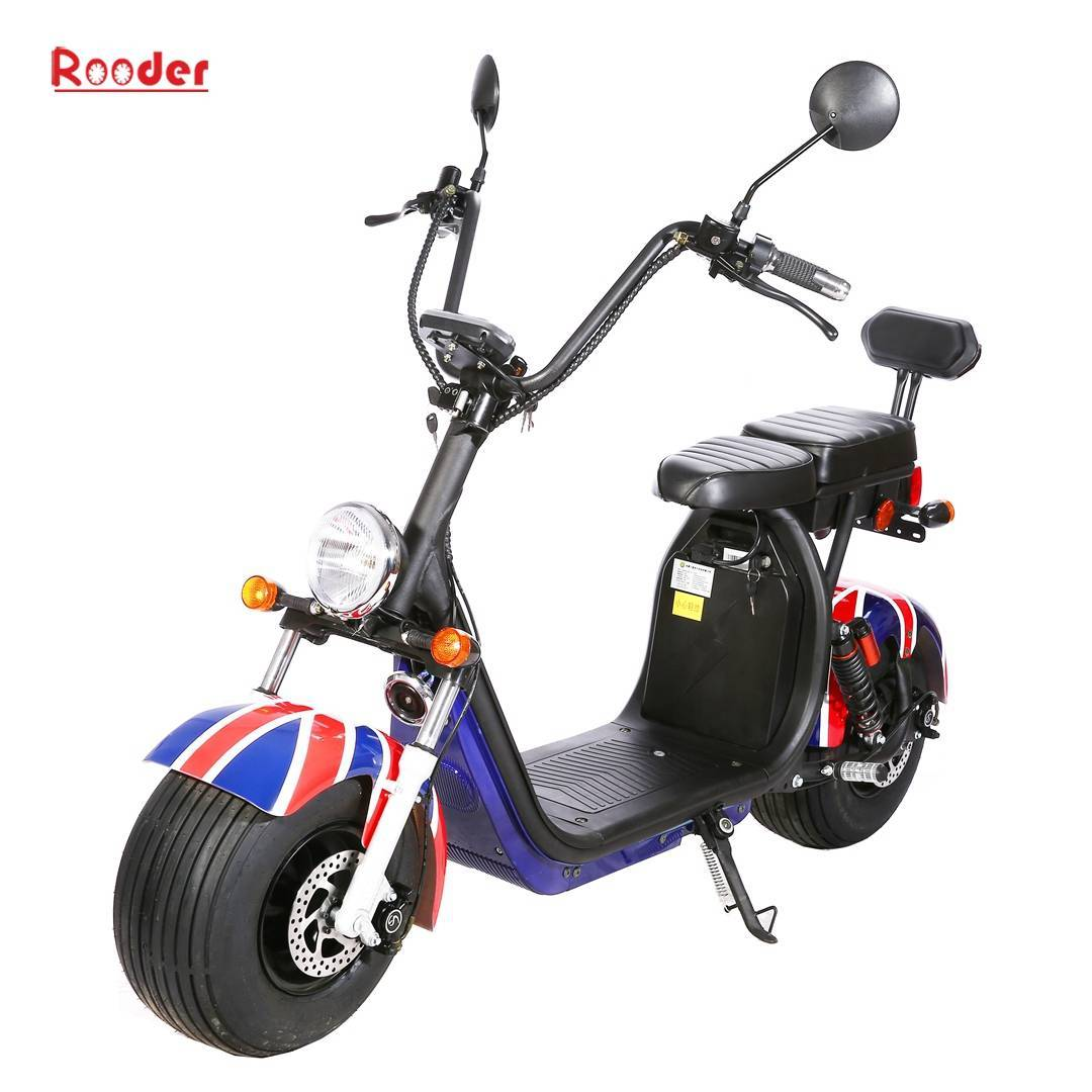Scooter électrique Harley Citycoco - homologué Rooder r804s (6)