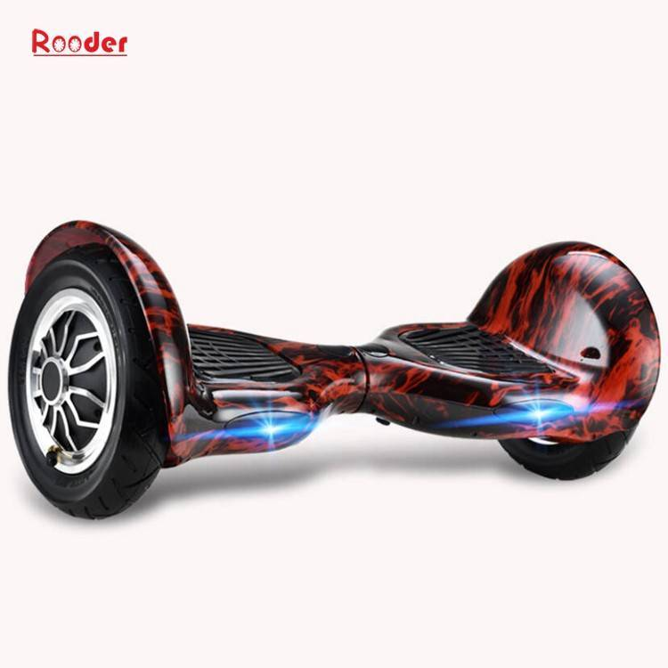 Rooder import smart balance electric scooter with taotao board gyroscope plastic shell 10 inch wheel samsung battery bluetooth remote supplier factory exporter (28)