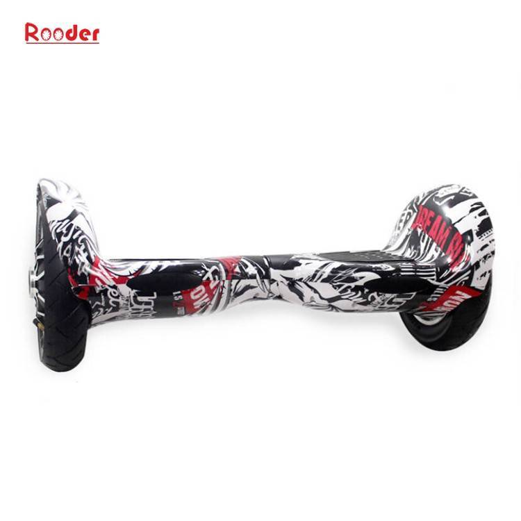 Rooder import smart balance electric scooter with taotao board gyroscope plastic shell 10 inch wheel samsung battery bluetooth remote supplier factory exporter (23)