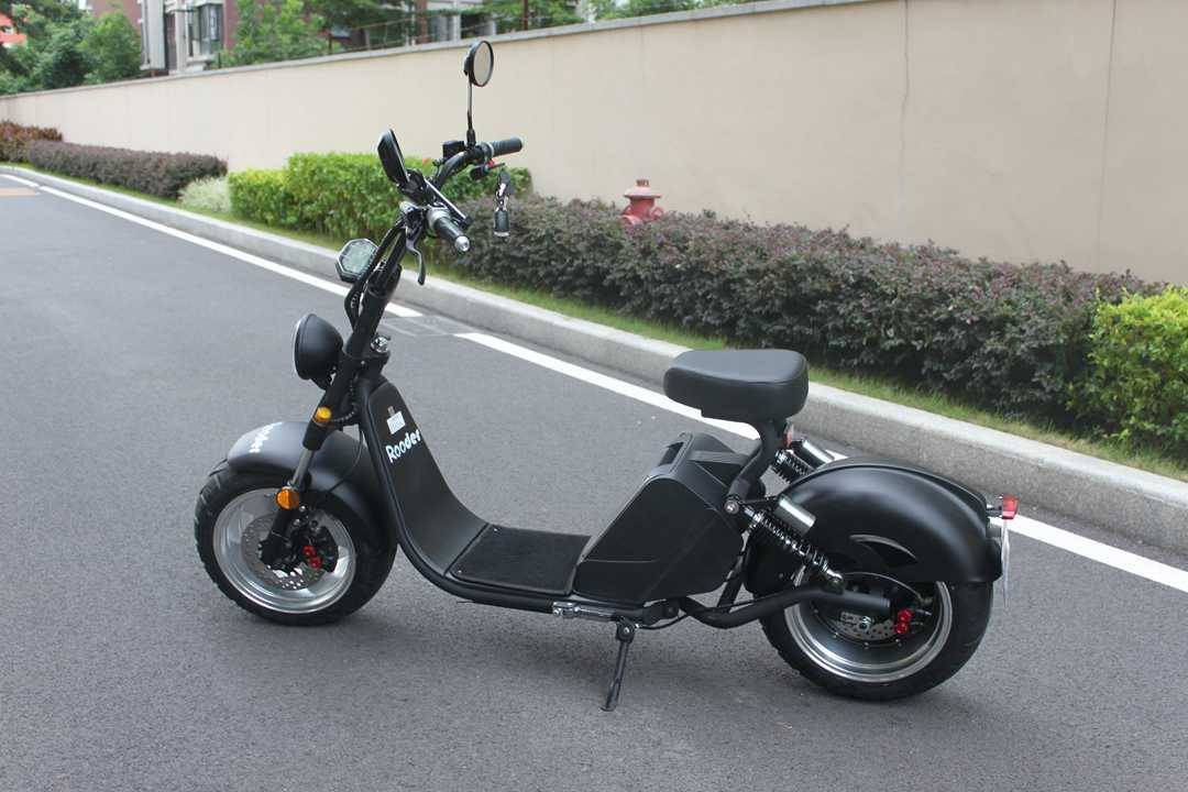 caigiees citycoco elektrisk scooter r804i EEC COC med 3000W 20ah 70kmh speedometor stativ bryter (13)