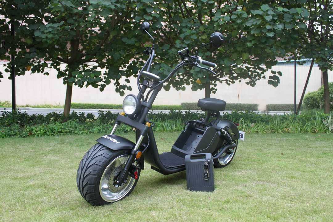 caigiees citycoco elektrisk scooter r804i EEC COC med 3000W 20ah 70kmh speedometor stativ bryteren (3)