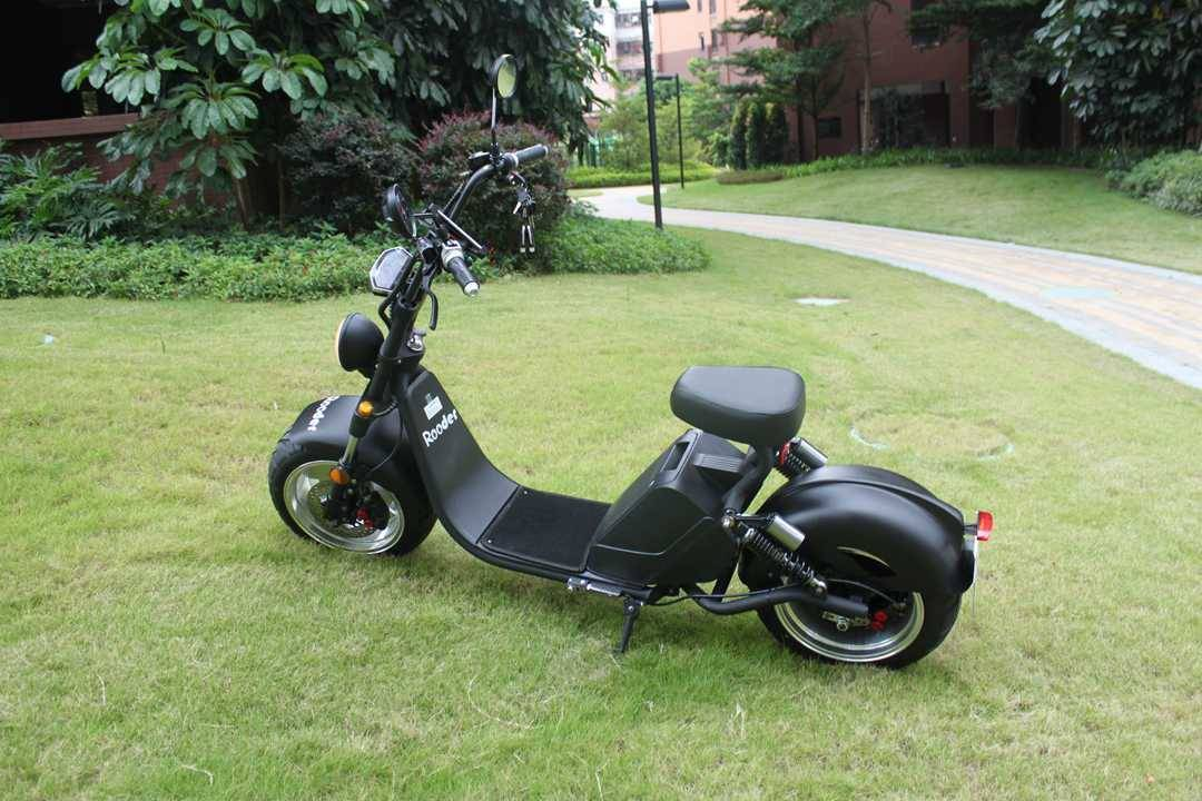 caigiees citycoco elektrisk scooter r804i EEC COC med 3000W 20ah 70kmh speedometor stativ bryteren (7)
