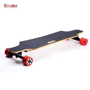 Rooder 4 wheel long board r800b electric skateboard with wireless remote control for adult