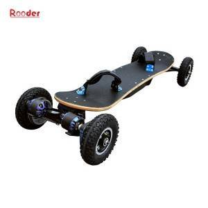 Rooder de vojo 4 radoj longa tabulo fabriko Electric powered skateboard r800e