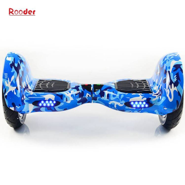 Rooder import smart balance electric scooter with taotao board gyroscope plastic shell 10 inch wheel samsung battery bluetooth remote supplier factory exporter (22)
