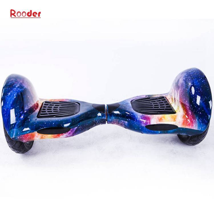 Rooder import smart balance electric scooter with taotao board gyroscope plastic shell 10 inch wheel samsung battery bluetooth remote supplier factory exporter (2)