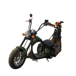 fat tire golf scooter 3000w powerful electric citycoco chopper with golf bag holder golf support from European warehouse