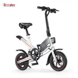 foldablae electric bicycle e-bike r809h with aluminium alloy frame 12inch