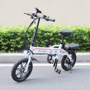foldable electric bicycle with 14inch wheel Rodder r809-v6