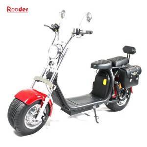 harley el scooter with big wheel fat tires r804d from China Rooder seev caigiees city coco citycoco harley electric scooter factory wholesale price