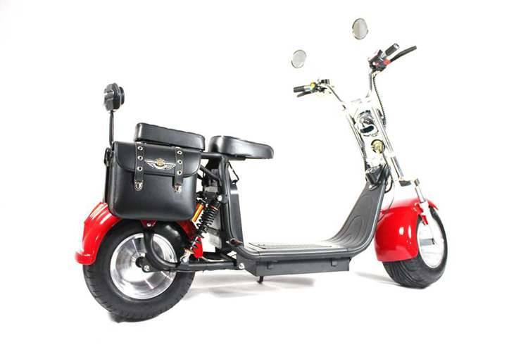 harley el scooter with big wheel fat tires from China Rooder seev caigiees city coco citycoco harley electric scooter factory wholesale price (5)