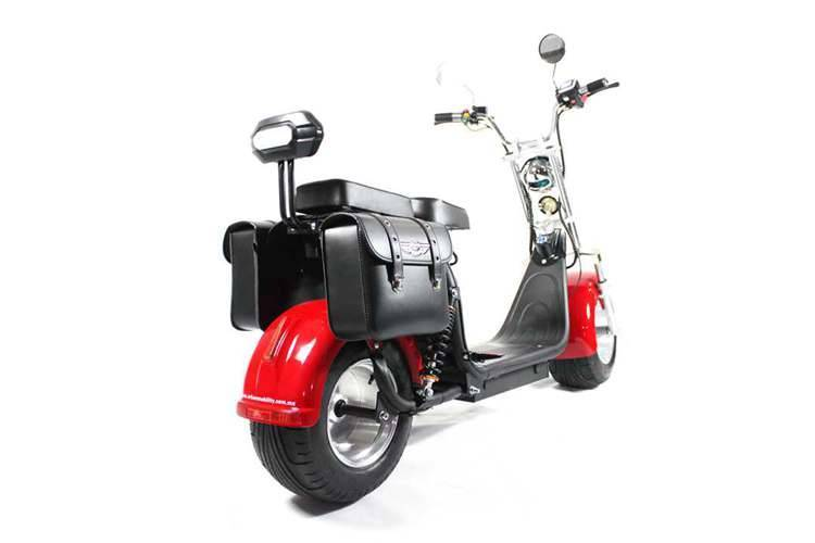 harley el scooter with big wheel fat tires from China Rooder seev caigiees city coco citycoco harley electric scooter factory wholesale price (6)