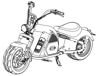 Rooder Runner citycoco chopper harley electric scooter r804 – m8 user manual