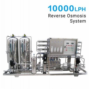 10000LPH Reverse Osmosis (RO) System for Industrial RO Plant