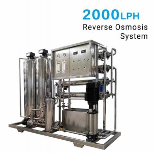 2000LPH Reverse Osmosis (RO) System for Industrial RO Plant