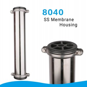 8″ 304 stainless steel housing/ 8040 SS membrane housing