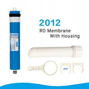 2012 RO membrane with housing-125GPD 150GPD 200GPD