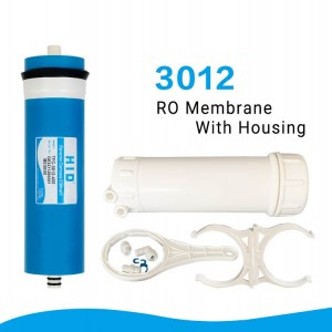 3012 RO membrane with housing-300GPD 400GPD
