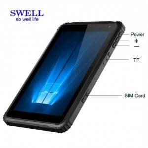 Ultrathin industrial tablet computer 10:16 1280×800 IPS windows tablet pc