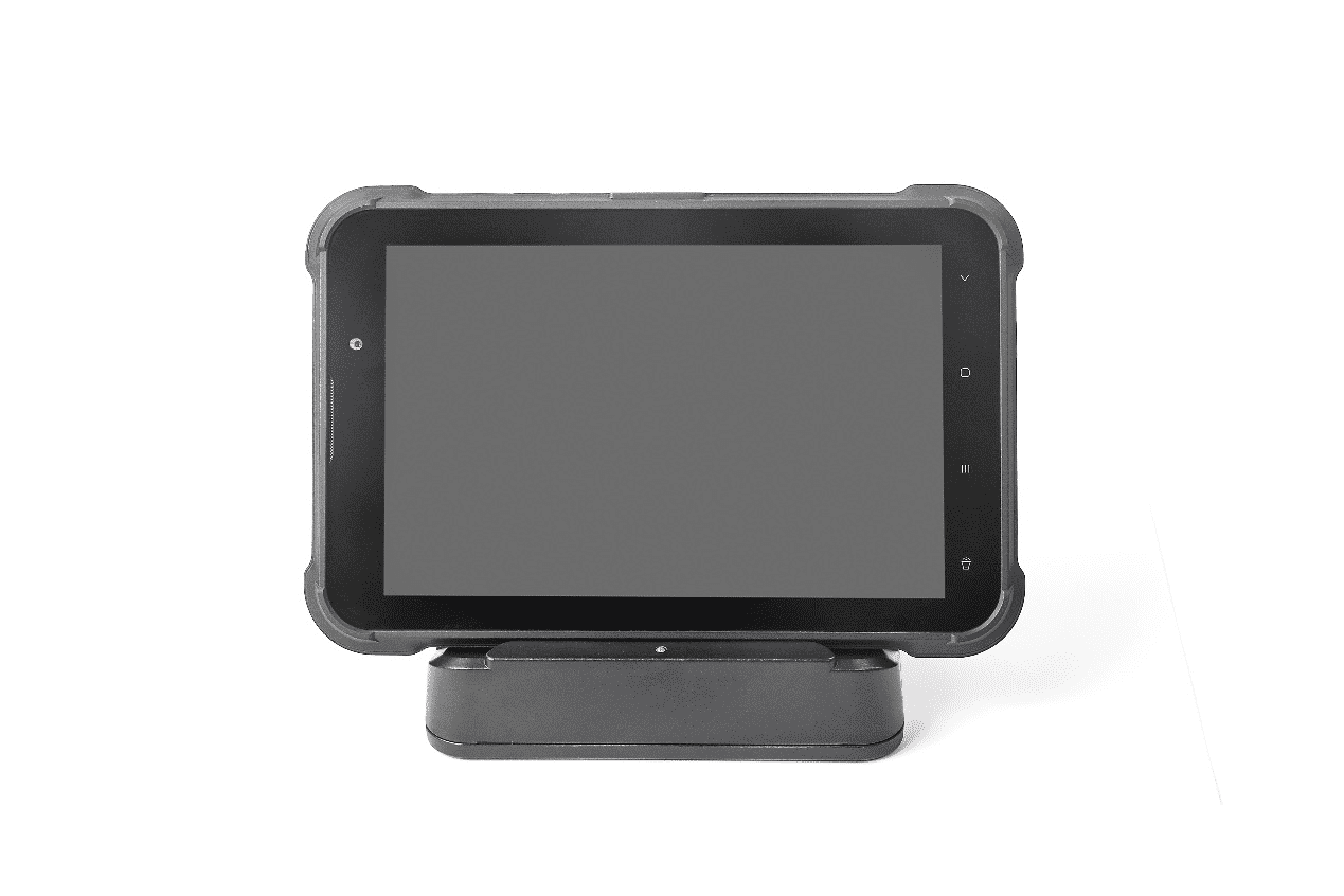 Industrial Rugged android tablet pc fhd hotel with magnetic fast charger