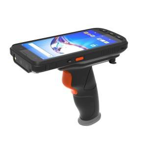 EAA GMS certified UHF handheld terminal IP65 waterproof Android10 OS