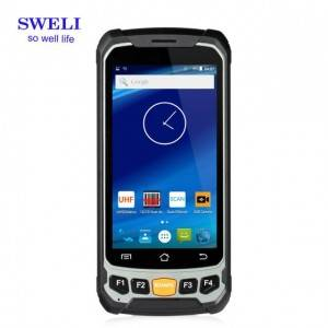 4.7inch Industrial Rugged Waterproof Smartphone PDA Windows CE  H947