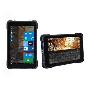 8inch mobile rugged tablet PC built in NXP PN547 chip rfid reader device
