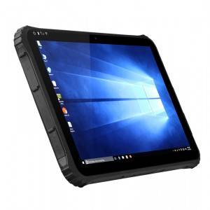 12.2Inch Window10 Rugged Tablet with 6300mAh hot swapping battery