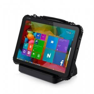 i22K 12.2Inch Window10 Rugged Tablet with 6300mAh hot swapping battery